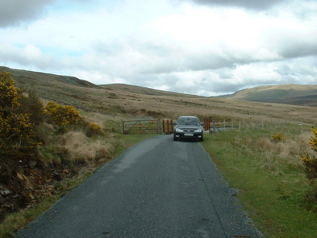 Unclassified road near Trawsfynydd
