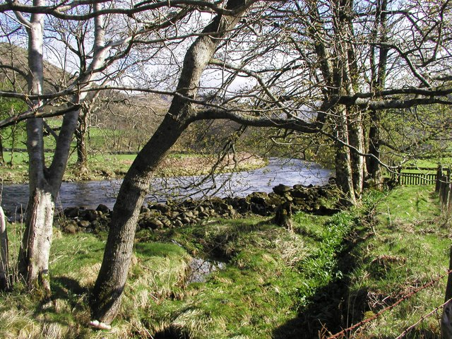 The Infant River Esk