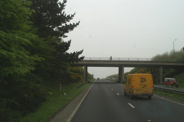 The new A30 northwest of Camborne
