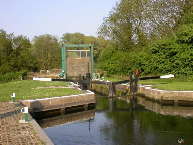 White Mills Lock and Gates