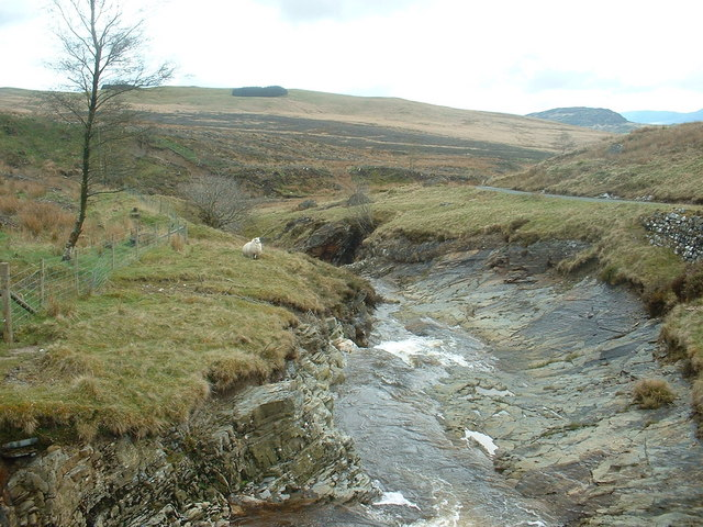 The Afon Gain, from Pont y Gain