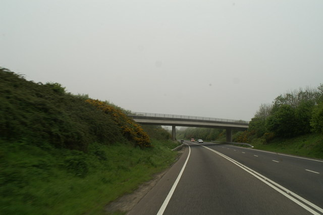 Going south on the A30