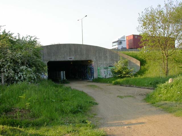 Underpass for the A45