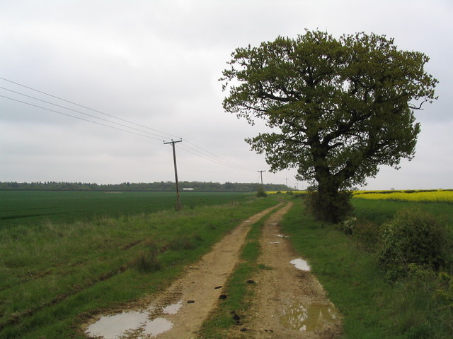 Green Lane to the A1, South Witham