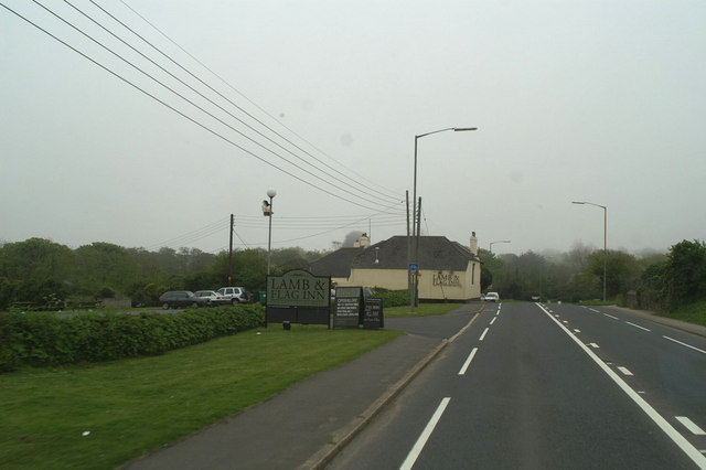 The Lamb & Flag at Rose-an-Grouse on the A30