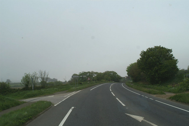 The Rosevidney turn-off from the A30