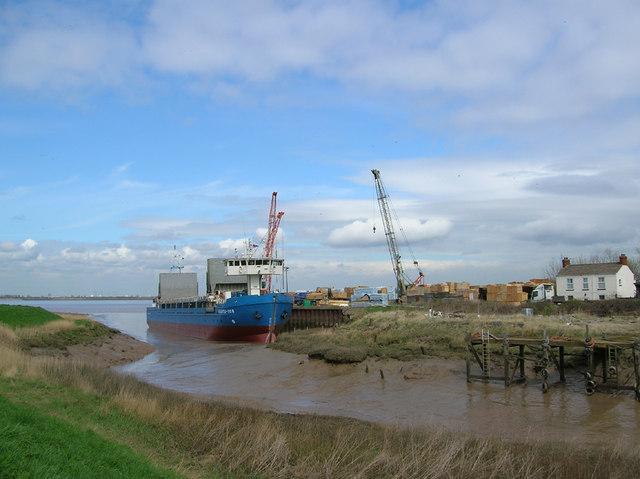 Barrow Haven Wharf