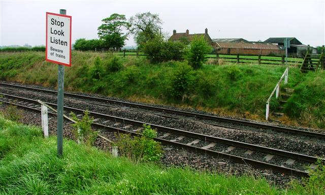 Railway Crossing, Wray House