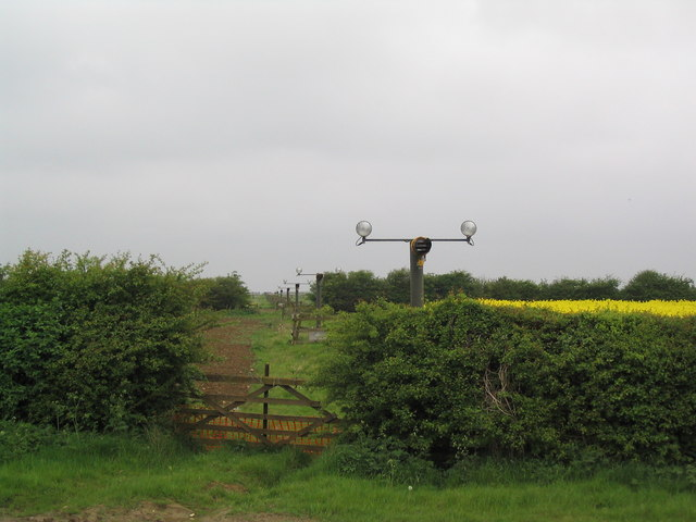 Runway lights for Cottesmore Airbase
