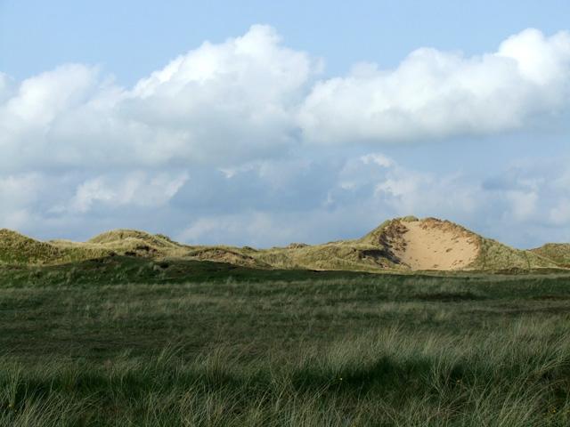 Sand dunes outside Aberffraw