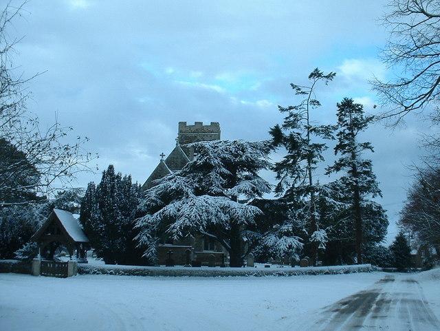 St Peter church, Wolferton.