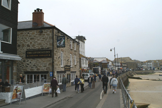 The Lifeboat Inn, St Ives