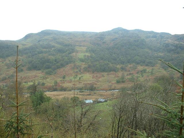 Barns near the Afon Lliw