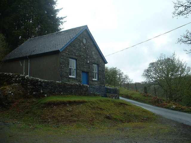 Chapel in Coed Wenallt