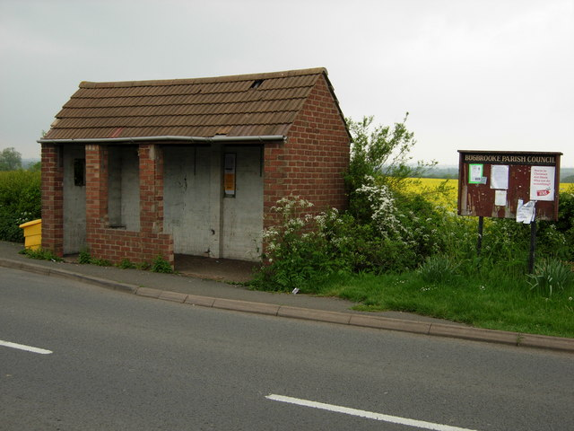 Bus shelter in Bugbrooke
