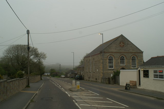 Chapel on the A3075 at Goonhavern