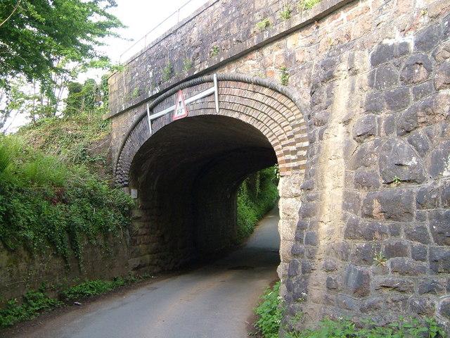 Railway bridge near Cheston
