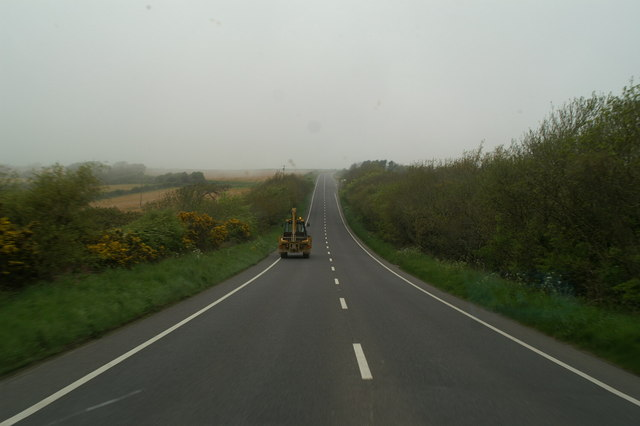 On the A3075 near Rejerrah