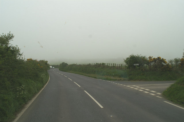 To Trewolla from the A3075