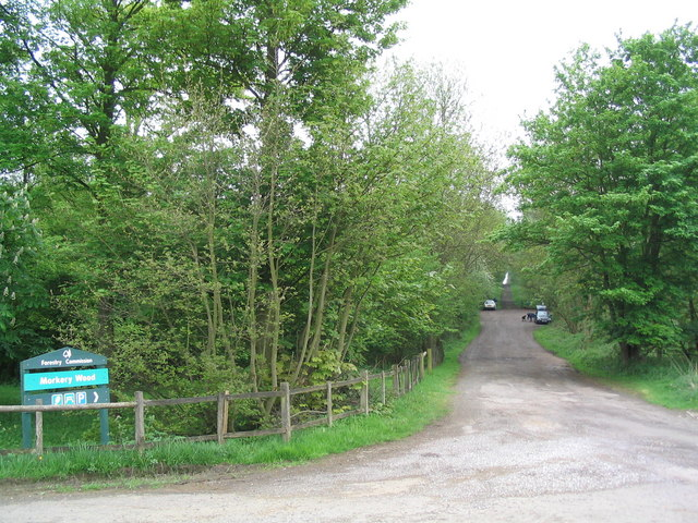 Morkery Wood main entrance