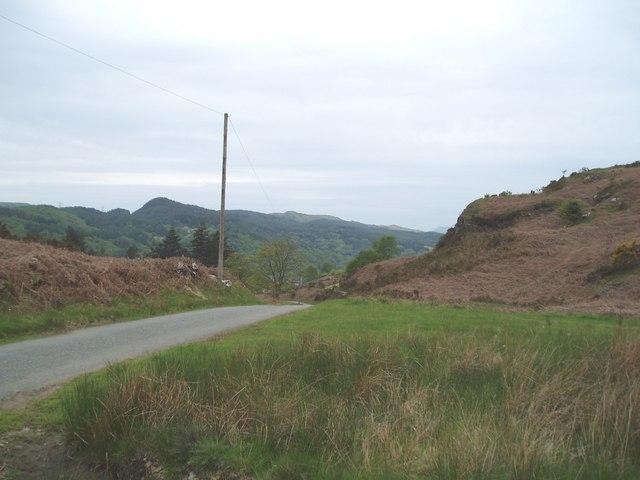 View from near Coed Pennyglannau