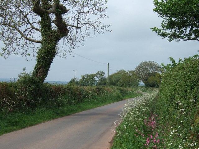 Unclassified road near Serstone Farm