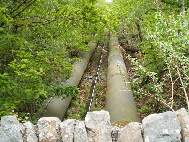 Maentwrog Power Station Pipelines