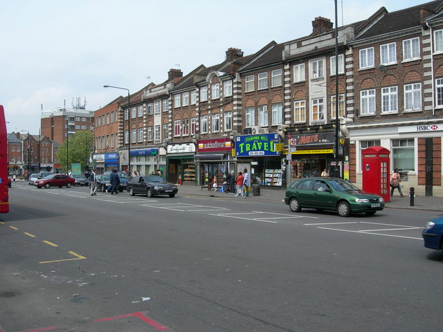 Clapton Common near Stamford Hill