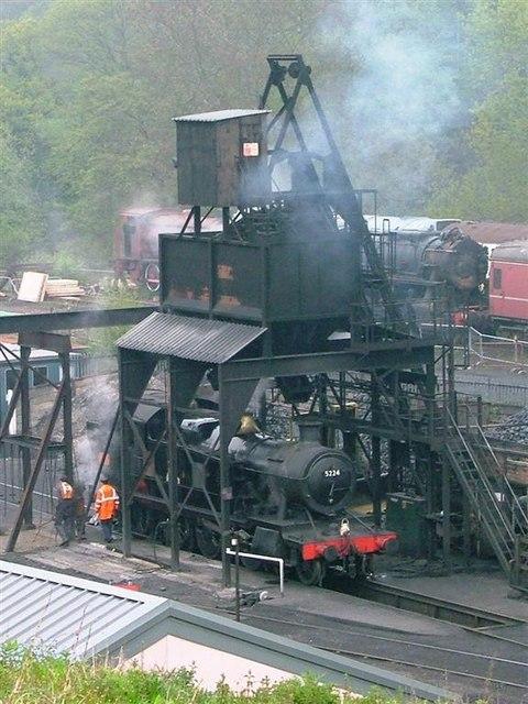 Coal Loader, Grosmont Sheds