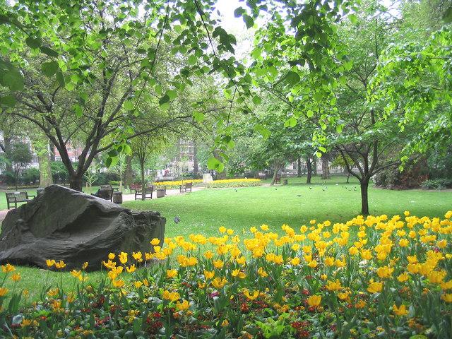 Tavistock Square Gardens, Camden