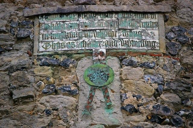 Cooling Castle Inscription
