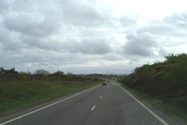A road off the A30