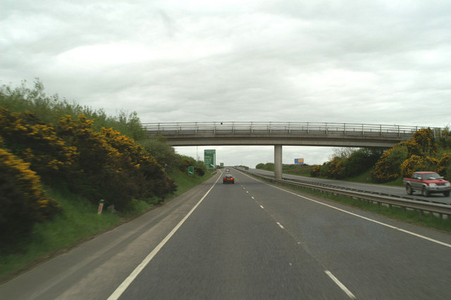 Bridge before the Newquay turning off the A30