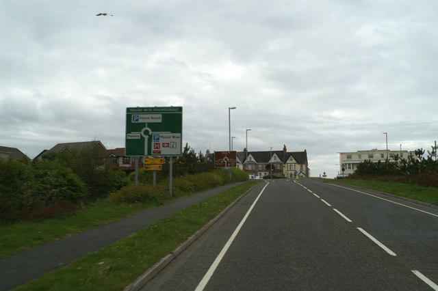 The end of the A392