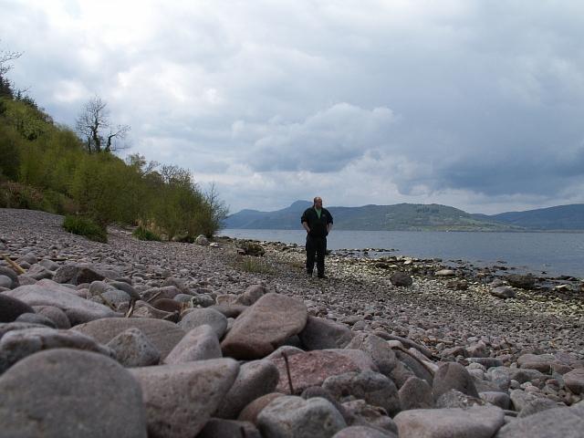 Loch Ness shoreline