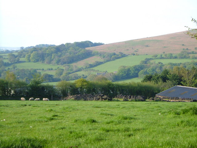 View near Corringdon