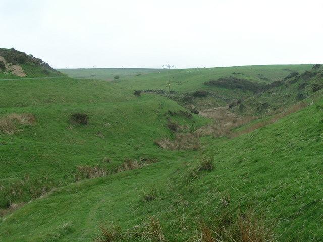 Clough below Turnshawflat