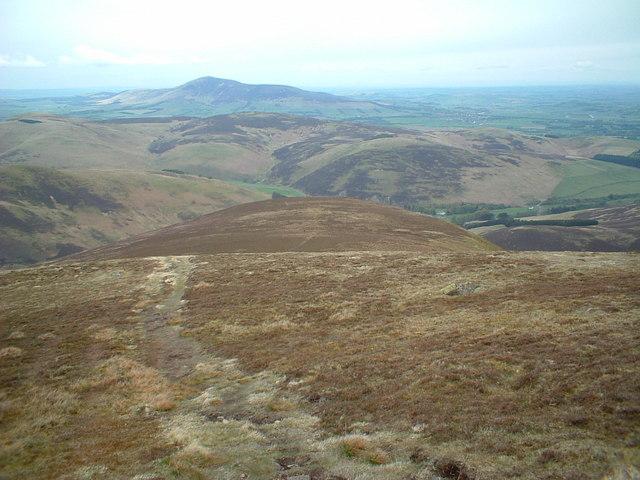 NW ridge of Culter Fell