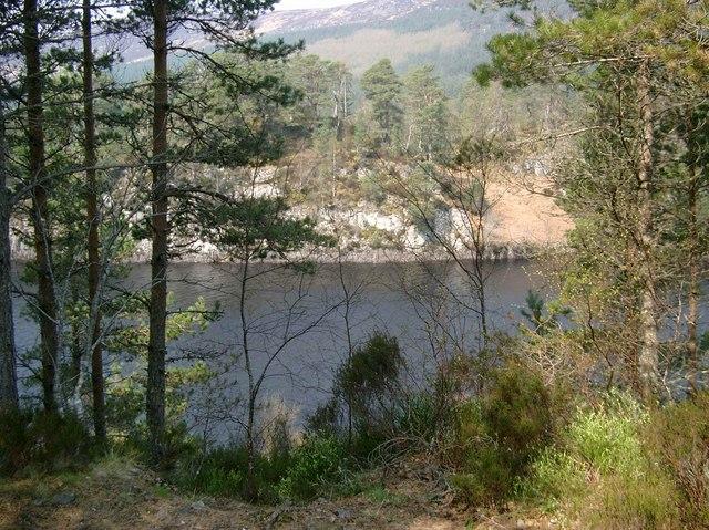 Narrows in Loch Beinn a Mheadhoin