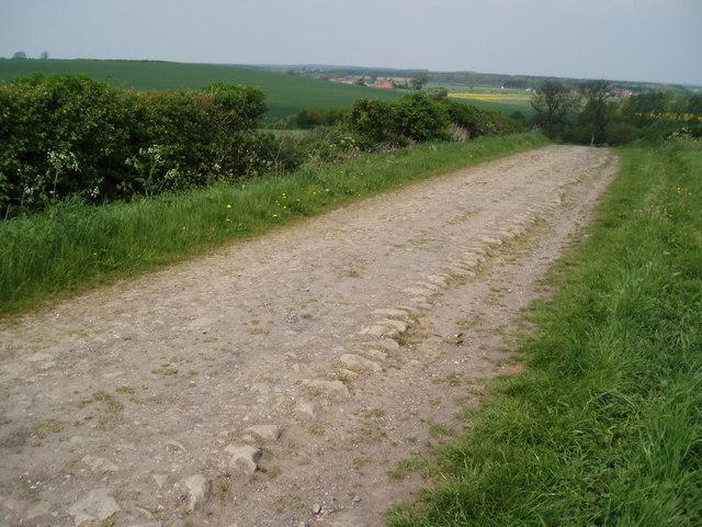 Stone Road - Tuxford to Bevercotes, Nottinghamshire