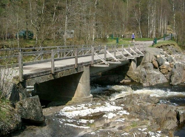 Bridge over the Affric at Dog Falls