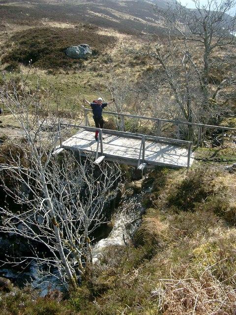 Bridge over the Allt Mullardoch