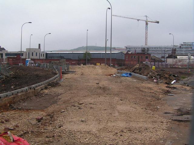 Redevelopment area