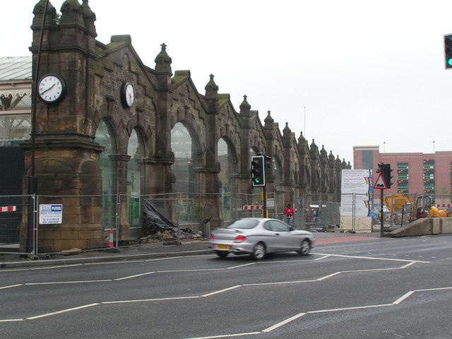 Front of Sheffield Station