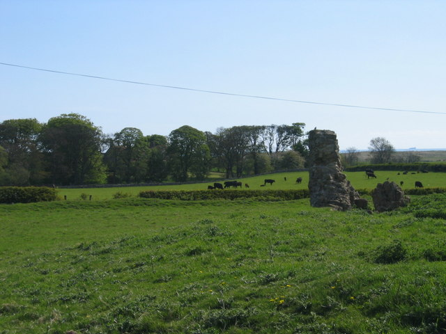 Remains of Chapel, Tughall