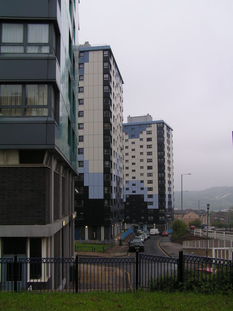 Blocks of flats by the ring road