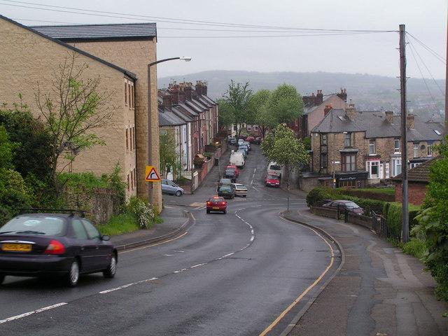 Terraced houses in Walkley