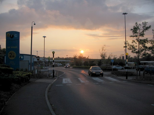Patchway sunset