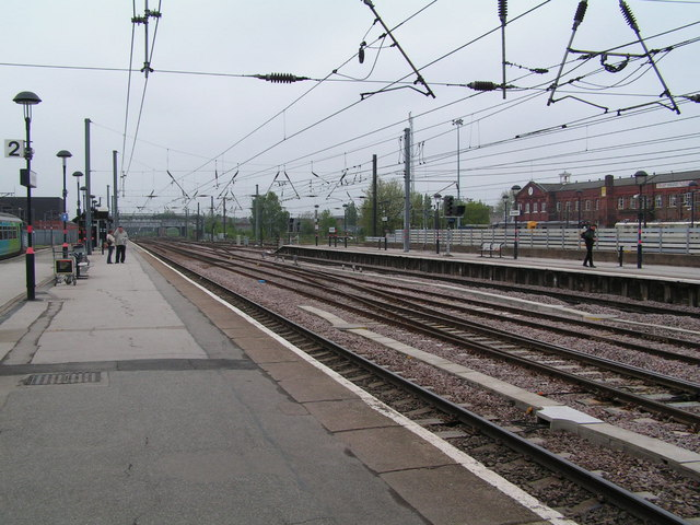 Southern end of Doncaster Station