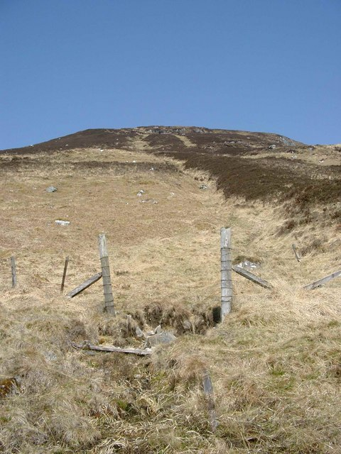 Gateway on the lower slopes of Mullach na Maoile